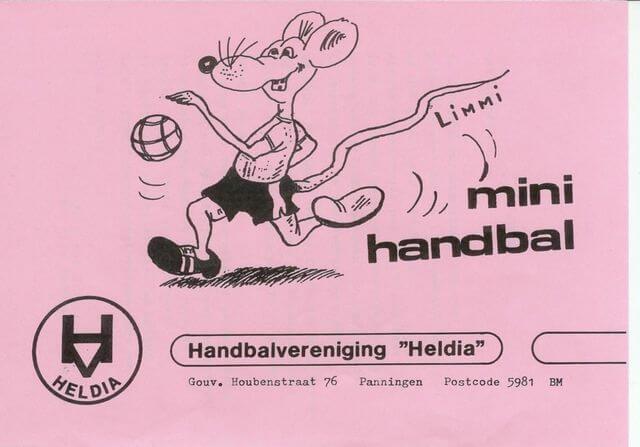 In het seizoen 83-84 werd een grote wervingscampagne opgestart, speciaal gericht op de leeftijd van 6 tot 9 jaar: de mini's.     Limmi de muis  bracht het handbalspel onder de aandacht van de kinderen en ouders.
